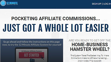 12 Minute Affiliate System Promotional Code 80 Off